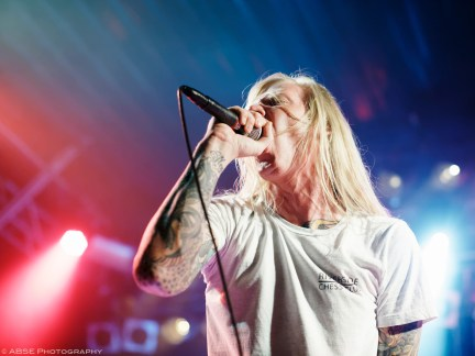 Evergreen Terrace, Backstage Halle, Munich, Germany, August 2018 © Alexis Buquet – ABSE Photography. All rights reserved. Please do not use this photo on websites, blogs or any other media without my explicit permission.