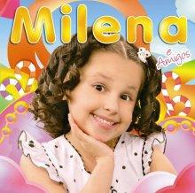 """Milena e amigos"": conheça a capa do primeiro CD da cantora mirim"