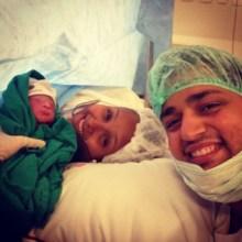 Nasceu Benjamin, filho da cantora Bruna Karla e Bruno Santos; Veja fotos