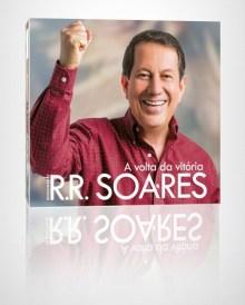 """""""A Volta da Vitória"""": missionário R. R. Soares apresenta capa e título de seu nono álbum"""