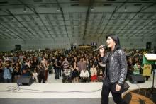 Fernanda Brum divulga vídeo making of da gravação de seu novo CD; Assista