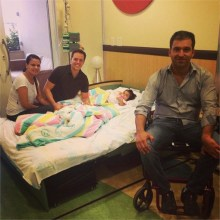 André Valadão visita Hospital do Câncer de Barretos e ministra a pacientes