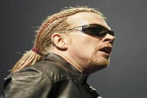 Axl Rose em 2006
