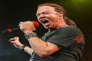 Axl Rose Guns N' Roses 2006