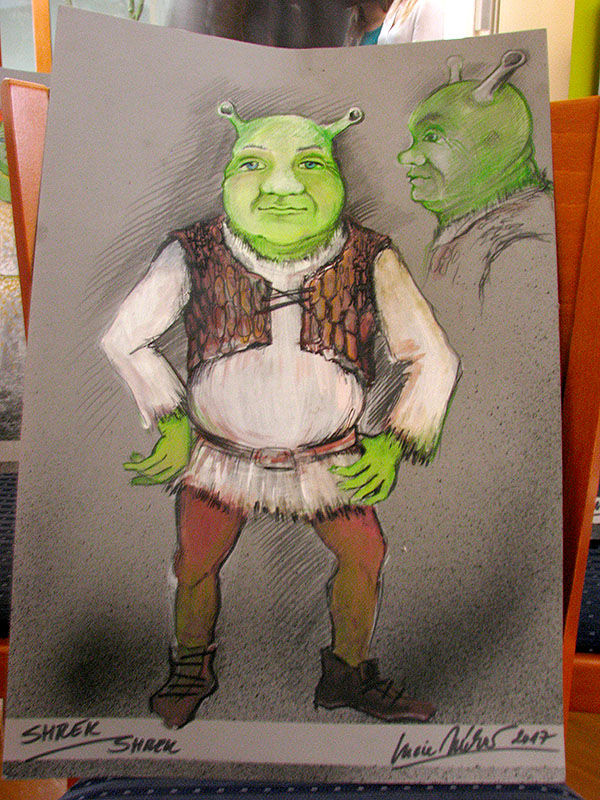 Shrek muzikál kostýmy