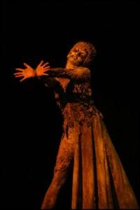Čas, taneční sólo Sibyla královna ze Sáby