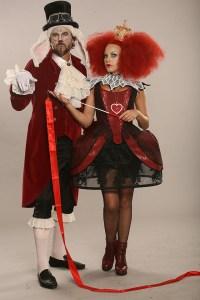 Bořek Slezáček a Martina Pártlová (Bílý králík a Srdcová královna)