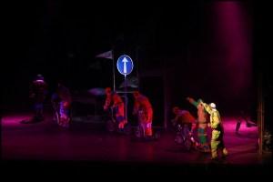 Sněhurka a sedm závodníků Divadlo Hybernia