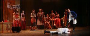 Muzikál Zorro Divadlo Hybernia Monika Abslonová Milan Němec Roman Vojtek