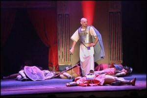muzikál Kleopatra Divadlo Broadway Tomáš Trapl