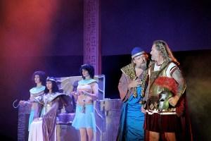 muzikál Kleopatra Divadlo Broadway Pezinok Kamila Nývltová Lešek Semelka Josef Vojtek