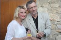 Iveta Bartošová s režisérem Petrem Novotným