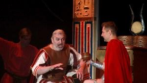 muzikál Kleopatra Divadlo Broadway Pezinok Daniel Hůlka Juraj Bernáth