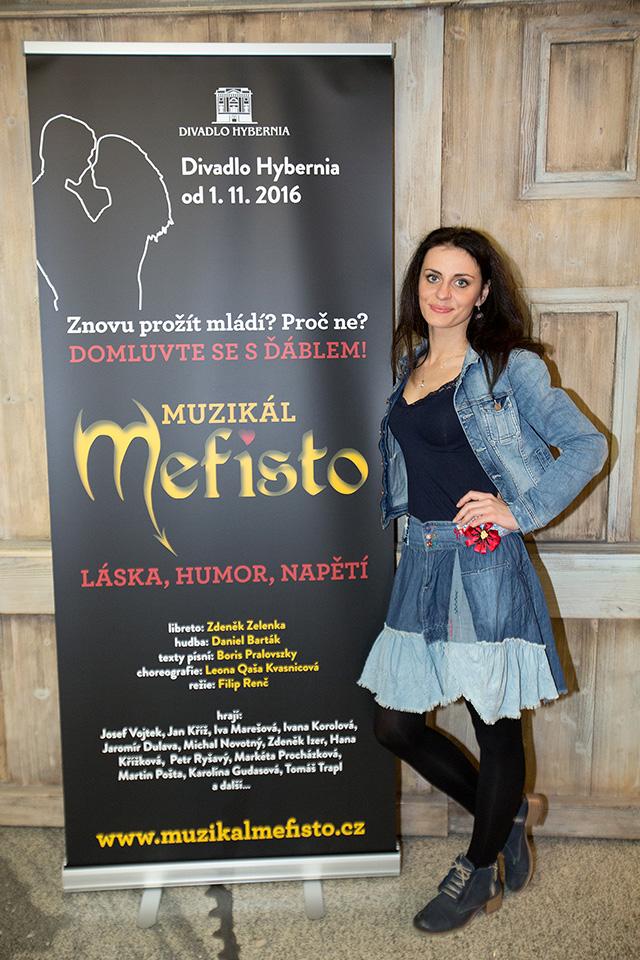 Markéta Procházková - muzikál MEFISTO - Divadlo Hybernia