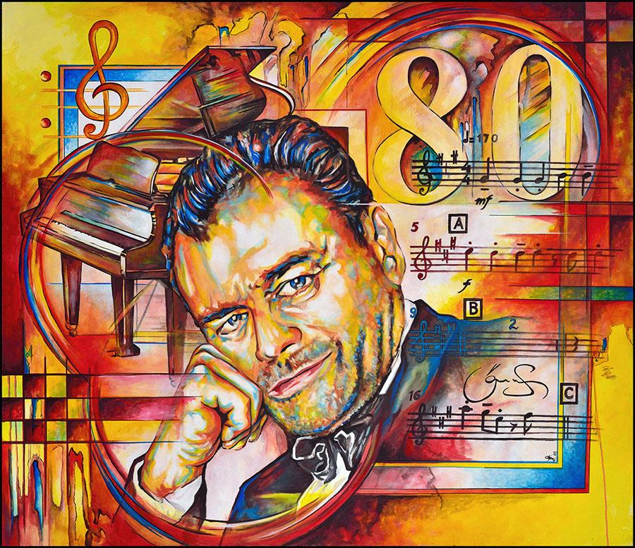 Obraz Joe Muczka jr. - Karel Svoboda 80
