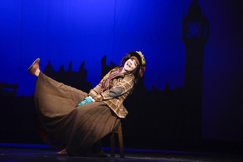 Kateřina Bohatová v muzikálu My Fair Lady