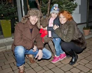 Ondřej Bábor a Michaela Nosková s dcerou Eliškou