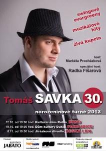 Tomáš Savka Radka Fišarová Markéta Procházková turné koncert