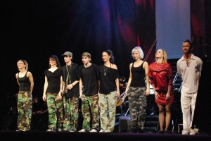 Děkovačka - taneční skupina Dance2x