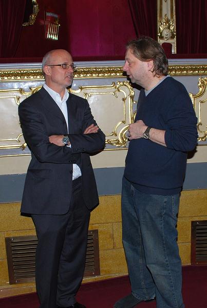 Michal Horáček, Milan Šteindler