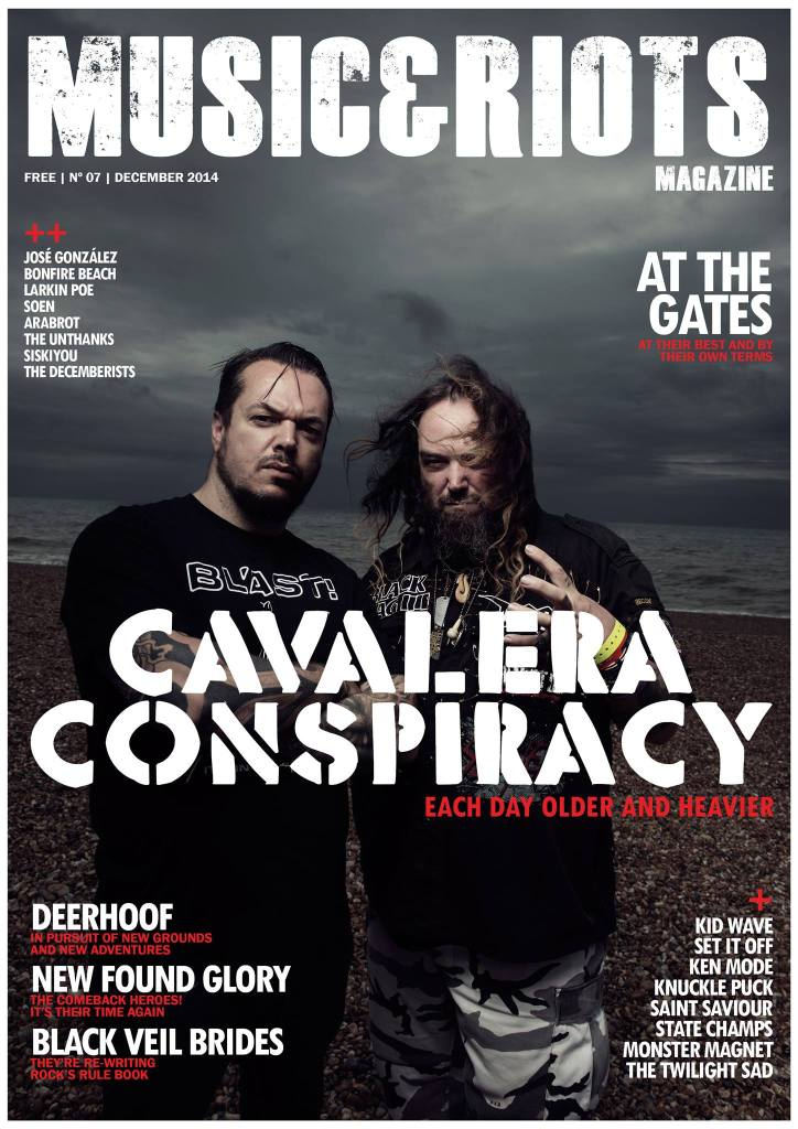 ISSUE 7 Featuring: Cavalera Conspiracy, Bonfire Beach, The Twilight Sad, Larkin Poe, Soen, Saint Saviour, Arabrot, Knuckle Puck, New Found Glory, State Champs, At The Gates, Ken mode, Monster Magnet, Set It Off, Black Veil Brides, Deerhoof, Kid Wave