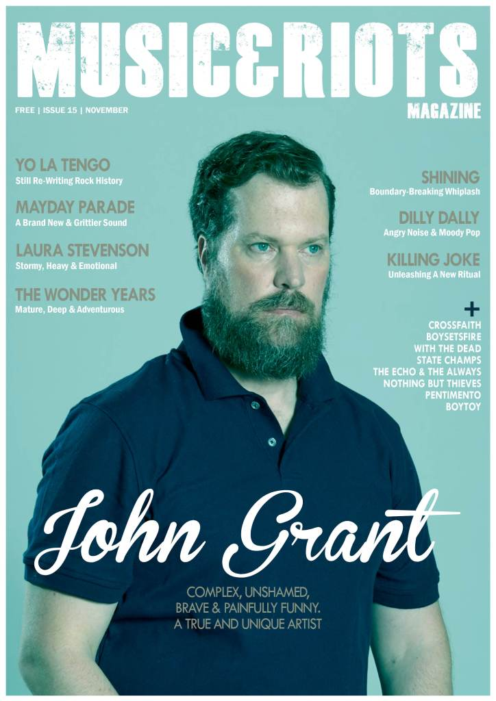 Featuring: John Grant, Yo La Tengo, Killing Joke, Dilly Dally, Shining, Mayday Parade, Laura Stevenson, The Wonder Years, Pentimento, Crossfaith, Boysetsfire, The Echo And The Always, State Champs, Nothing But Thieves, With The Dead, Joanna Newsom, Hey Anna, Muncie Girls, Bruising, Amplifest 2015 and much more...