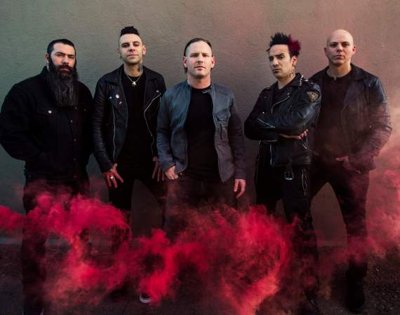 Stone Sour 2017 press shot credit Travis Shinn