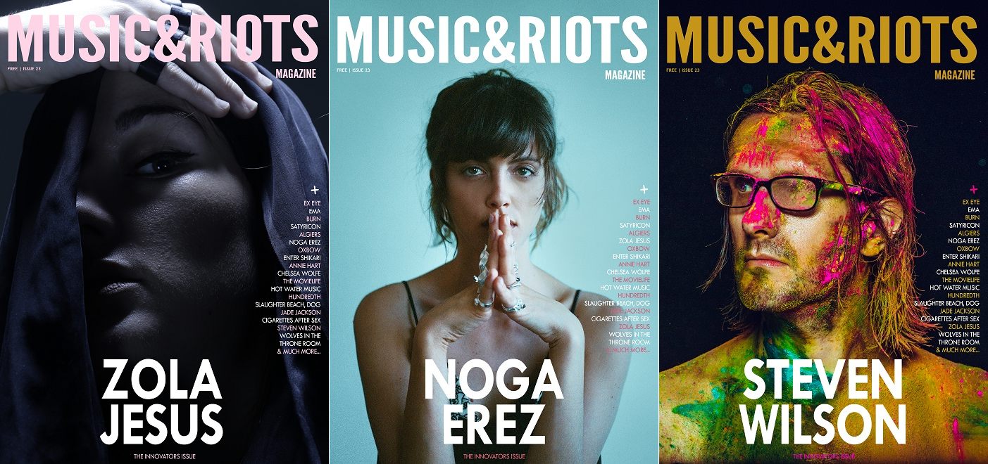 Issue 23 - 3 Covers