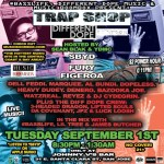 MUSIC BOOMBOX PRESENTS: THE TRAP SHOP –  A HIP HOP SHOWCASE