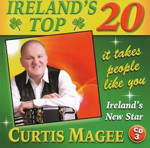 CURTIS MAGEE IRELANDS TOP 20 CD