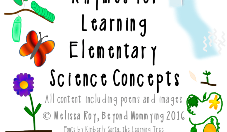 Rhymes for Learning Elementary Science Concepts