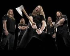 Amon Amarth band axe photo
