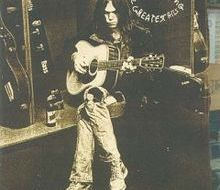 Neil Young Greatest Hits album