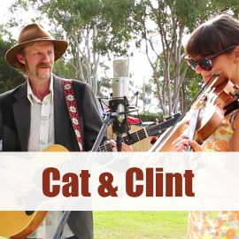 Cat & Clint at The Lost Highway Karuah Bluegrass Music Festival