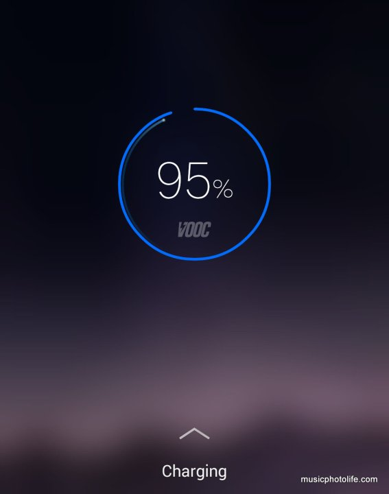 OPPO R7 screenshot VOOC