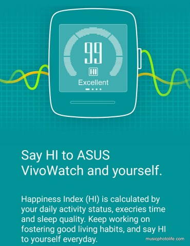 ASUS VivoWatch HiVivo app