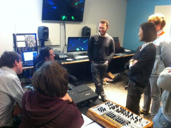 Ezra Buchla - Guest artist lecture in the Modular Synth Studio