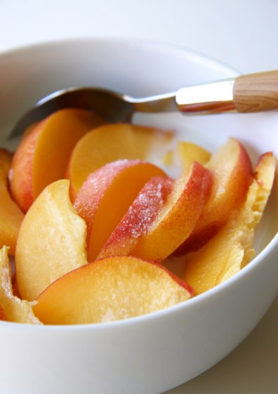 Peach Cereal | Musings of a Gourmande
