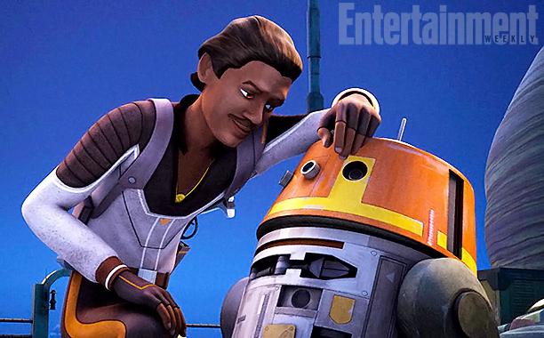 star wars rebels lando chopper. Star Wars Rebels Clip & Images: Lando Returns