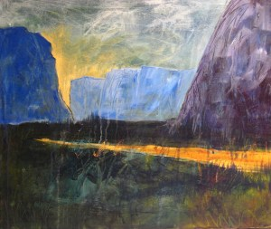 40012 On the Way to the Pond NL Acrylic