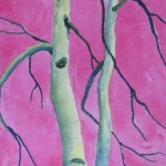 48413 Tree Series #5 Poplar Pink