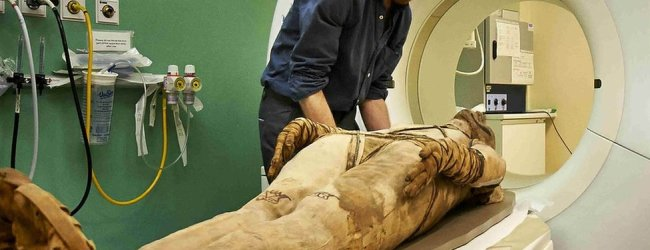 Scans bring new insights into lives of Egyptian mummies