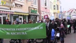 Delmenhorster Friedensmarsch  zu Aschura 2015