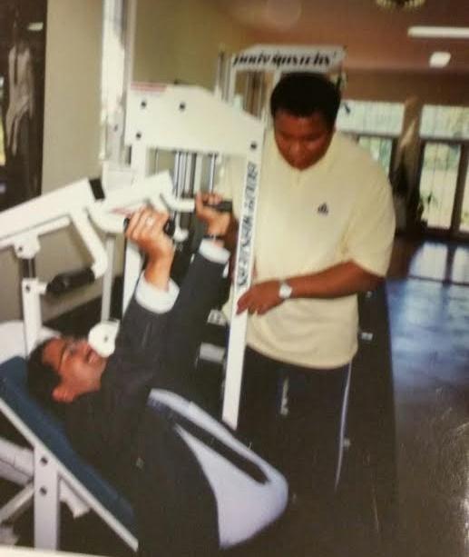 Dr Khutbuddin and Muhammed Ali.