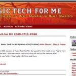 50th Episode Of MusicTechForMe.com -Prof. Keith Mason and Dr. Joseph Pisano