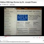 Early Edition ~iPad App Review #5 -Incredible RSS Magazine Style Reader