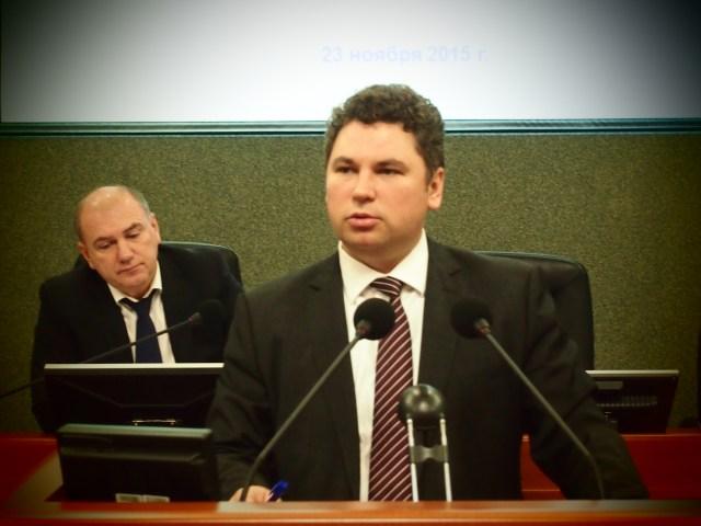 И.о. министра финансов Карелии. Фото: Валерий Поташов
