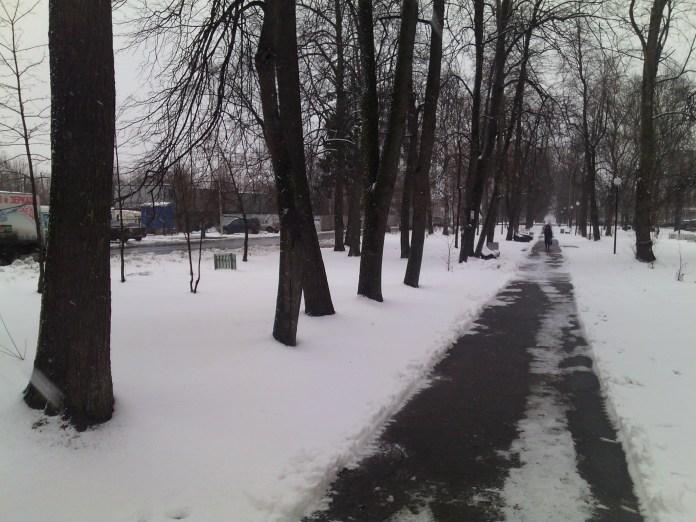 Левашовский бульвар. Фото: Валерий Поташов