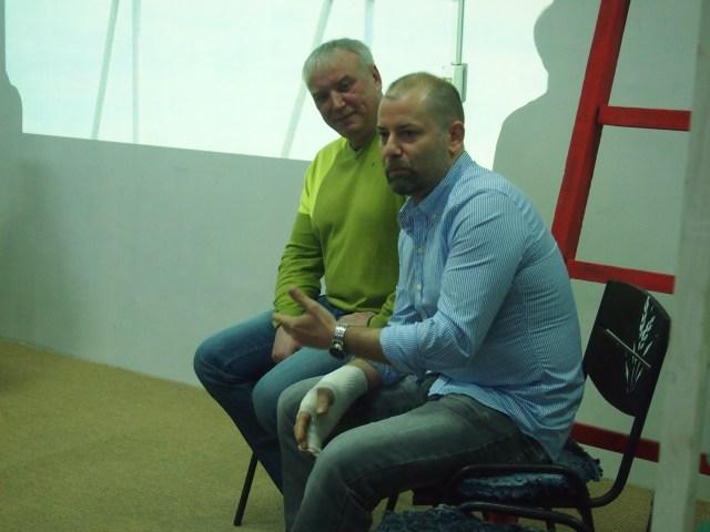 Валентин Сватовой и Томан Хайнрих. Фото: Валерий Поташов