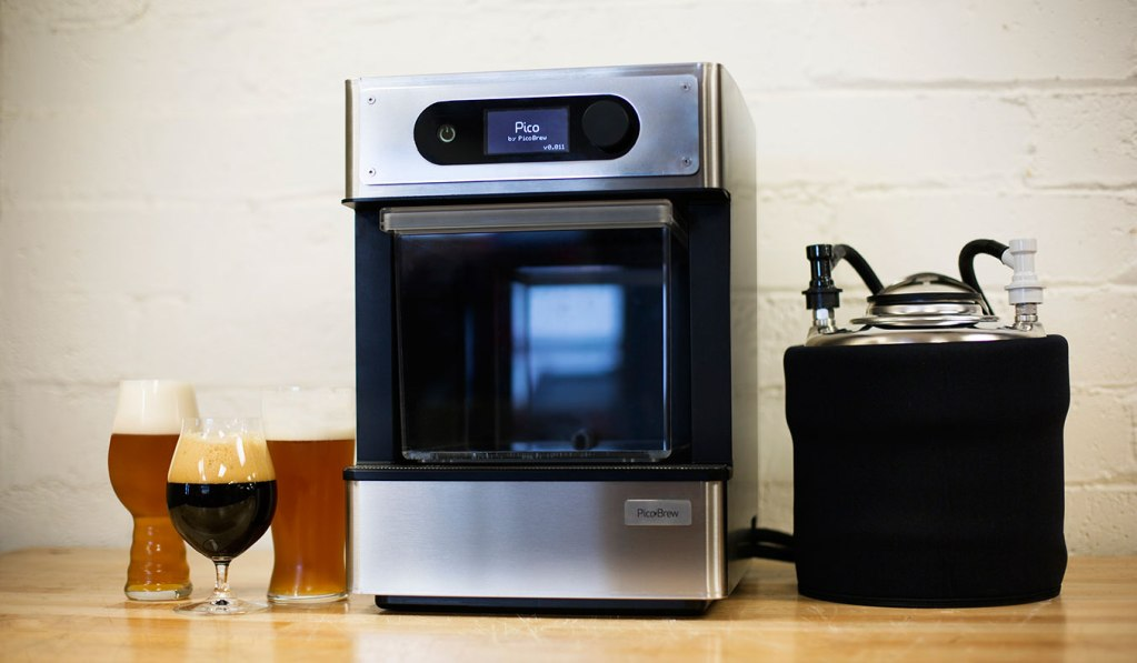 Pico home craft beer brewing system muted for Home brew craft beer